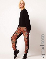 ASOS PETITE Exclusive Baroque Trousers