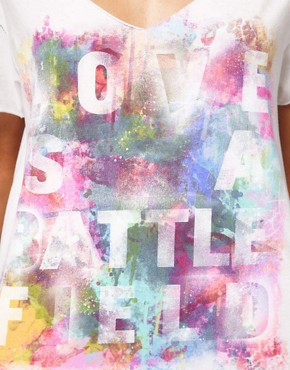 Image 3 ofChaser Love Is A Battlefield T-Shirt