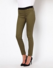 Leggings vaqueros de corte pitillo de Karen Millen