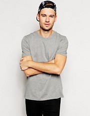 River Island Basic T-Shirt in Grey