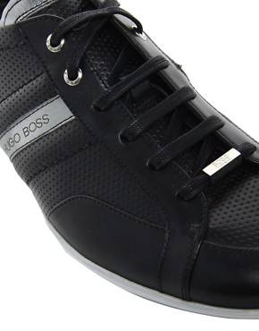 Image 2 ofBOSS Black Weiko Trainers
