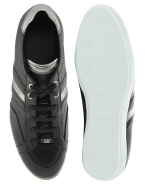 Image 3 ofBOSS Black Weiko Trainers