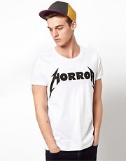 ASOS T-Shirt With Horror Print
