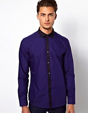 River Island Shirt with Contrast Placket