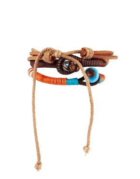 Image 2 ofASOS Formentera Bracelet Pack