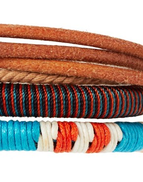 Image 4 ofASOS Formentera Bracelet Pack