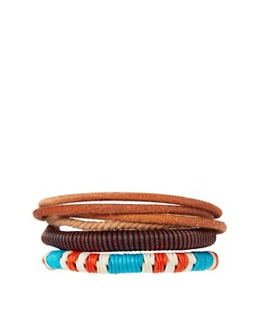 Image 1 ofASOS Formentera Bracelet Pack
