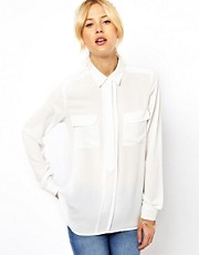 ASOS Shirt With Layered Placket