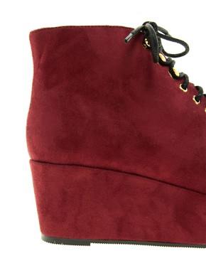 Image 3 ofASOS VINCENT Flatform Ankle Boots