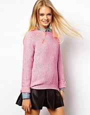 ASOS Chunky Rib Jumper