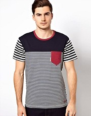 Voi Block Stripe T-Shirt