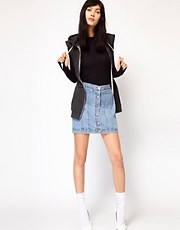 Cheap Monday Denim Mini Skirt