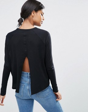 ASOS Swing Top With Slash Back