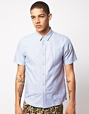 Silas Sleeve Oxford Stripe Shirt