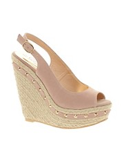 New Look Hazy Studded Wedge Espadrilles