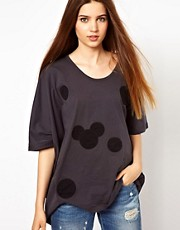 Unconditional Oversized Mickey Spots T-Shirt
