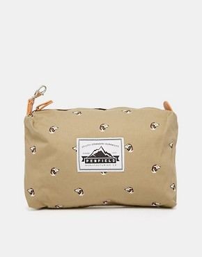 Penfield Danbury Washbag with Dog Print