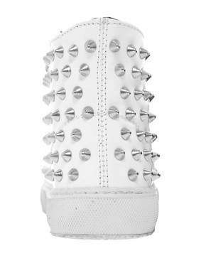 Image 4 ofGienchi White High Top Trainers