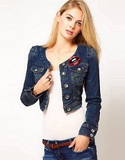 Miss Sixty Crop Denim Jacket