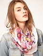 Image 1 of ASOS Floral Print Snood