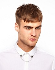 River Island Skull Collar Tips and Chain