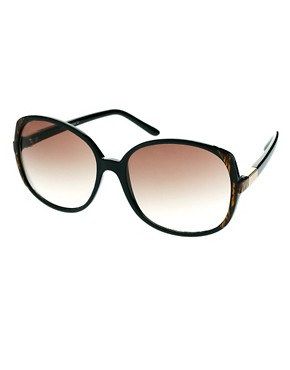 Image 1 ofASOS Oversized 70s Sunglasses With Corner Detail