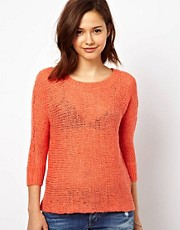 Vila Slubby Yarn Sweater