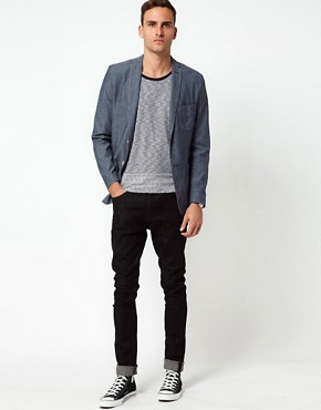 Image 4 ofJ Lindeberg Jacket Slim Chambray