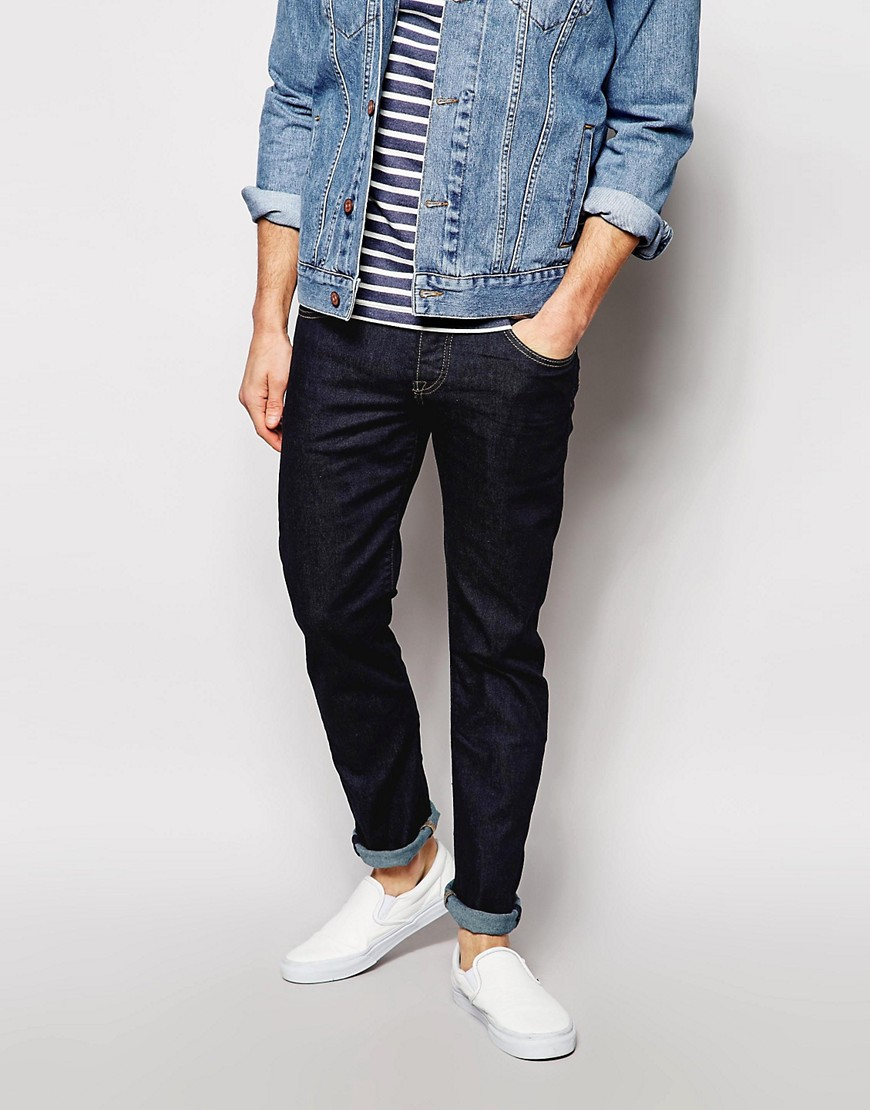 Image 1 of Pepe Jeans Cane Slim Fit Raw Wash