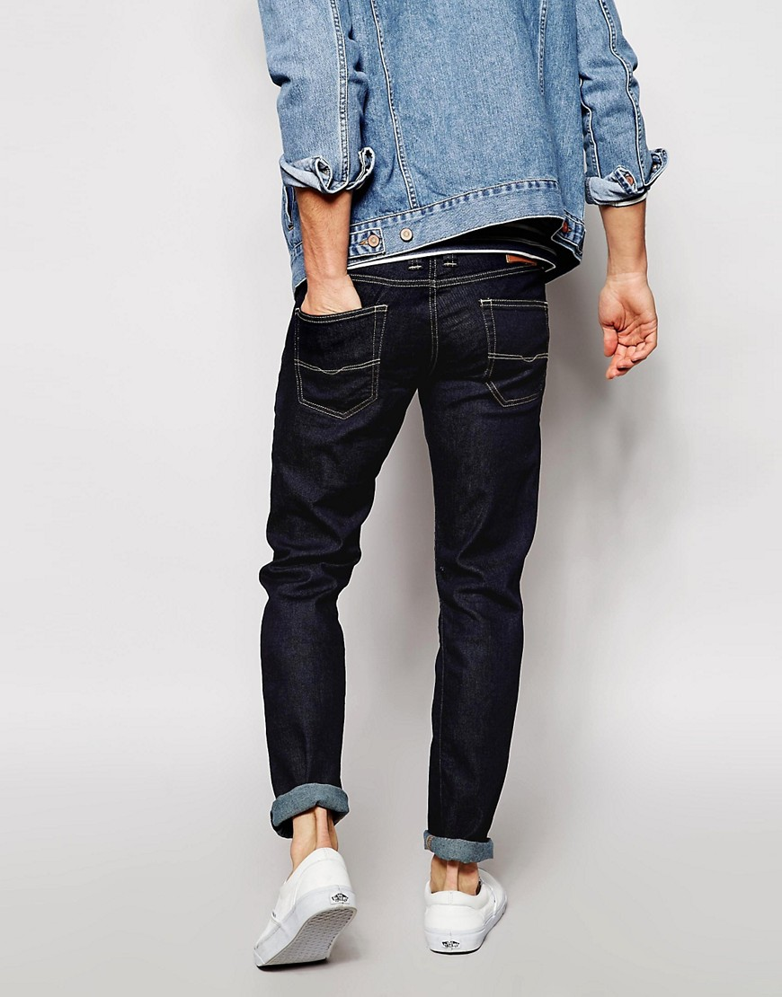 Image 2 of Pepe Jeans Cane Slim Fit Raw Wash