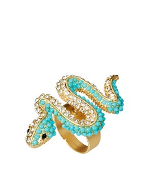 Image 1 ofKenneth Jay Lane Snake Ring
