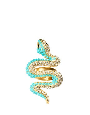 Image 2 ofKenneth Jay Lane Snake Ring
