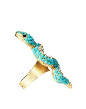 Image 4 ofKenneth Jay Lane Snake Ring
