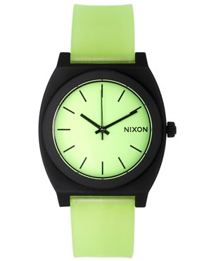 Image 1 ofNixon Glo Green Watch