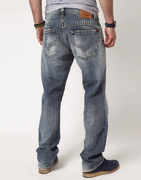Image 2 ofPepe Kingston Jeans Regular Fit Light Wash