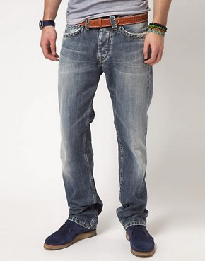 Image 1 ofPepe Kingston Jeans Regular Fit Light Wash