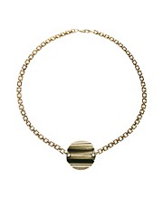 Yasmin By Gogo Philip Disc Necklace