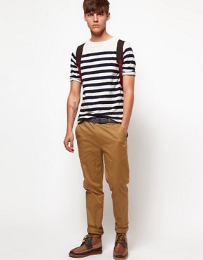 Image 4 ofASOS Stripe 3/4 Sleeve T-Shirt