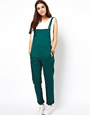 ASOS Dungarees in Twill