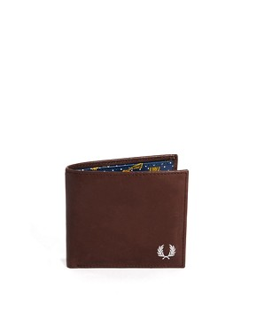 Fred Perry Drakes Detail Billfold Wallet