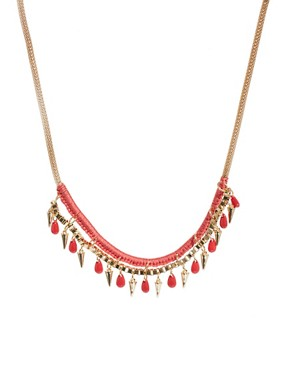 Image 1 of Warehouse Statement Wrapped Necklace