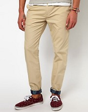 ASOS Slim Chino With Turn Up
