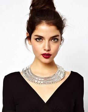 Image 3 ofASOS Statement Pharaoh Collar Necklace