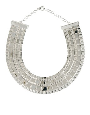 Image 1 ofASOS Statement Pharaoh Collar Necklace