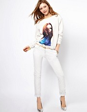 Maison Scotch Chino in White