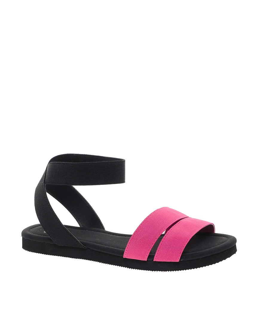 Image 1 of ASOS FUN FAIR Flat Sandals