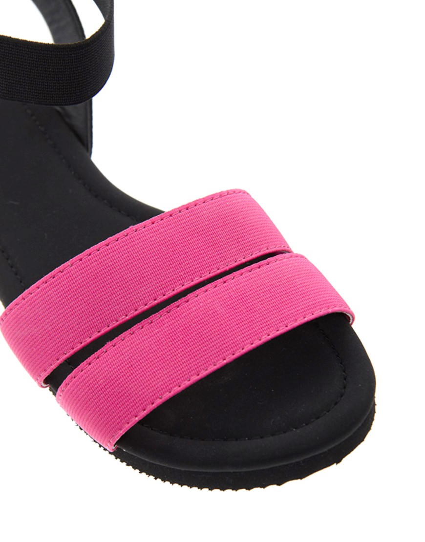 Image 4 of ASOS FUN FAIR Flat Sandals