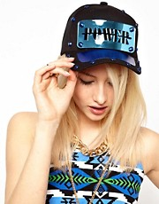 Funky Bling Power Snapback Cap