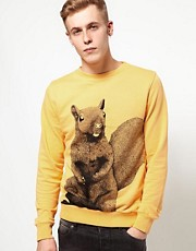 Supremebeing Sweat Crewneck Karate Squirrel