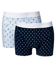 Selected Iker 2 Pack Trunks